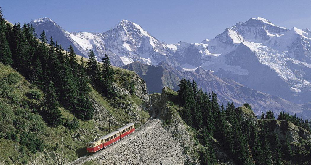 جمال الطبيعة في سويسرا