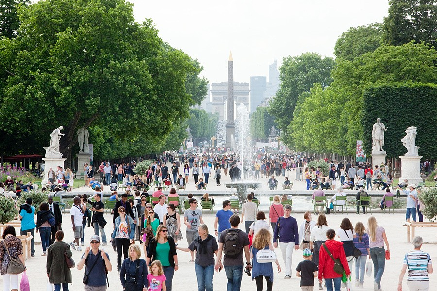 حدائق باريس