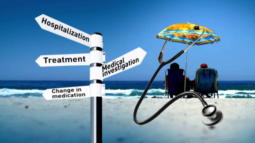 السياحة العلاجية