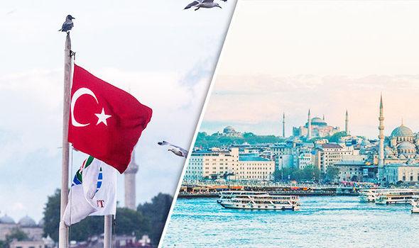 رحلة الي تركيا