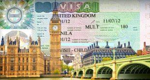 الأوراق المطلوبة للحصول على الفيزا البريطانية