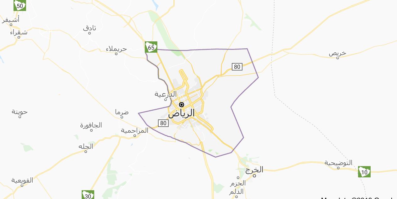 خريطة الرياض السياحية وأهم المعالم السياحية سفر