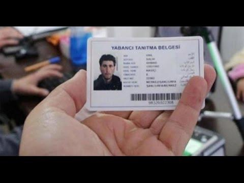 الرقم الوطني التركي TC Numarasi