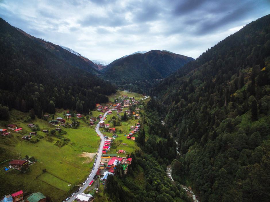 قرية ايدر التركية