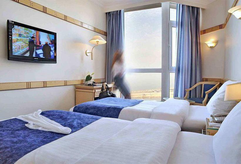 غرف فندق ميركيور الإسكندرية