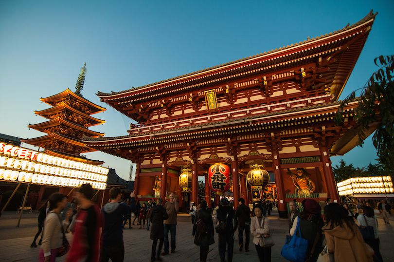 السياحة في توهوكو اليابانية