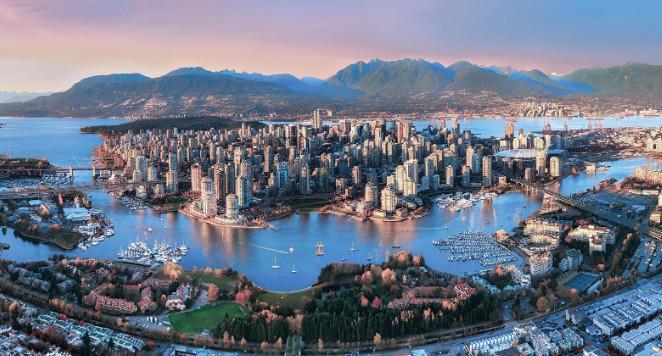 فانكوفر الكندية من اجمل مدن العالم