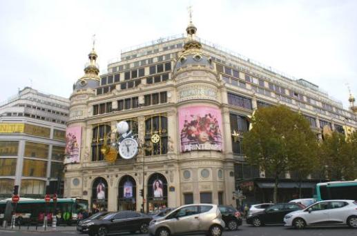 اماكن التسوق في باريس