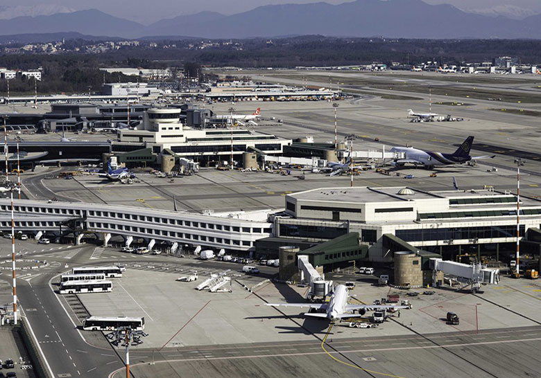 كود مطار ميلانو