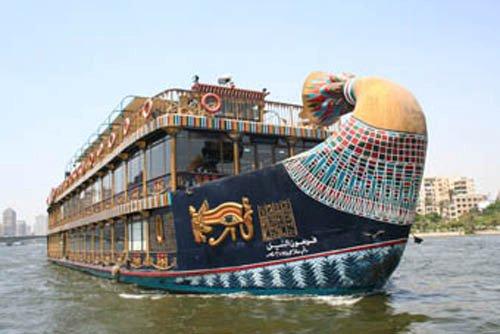 مركب فرعون النيل