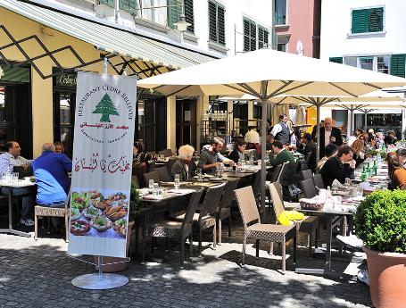 مطاعم حلال في زيورخ سويسرا