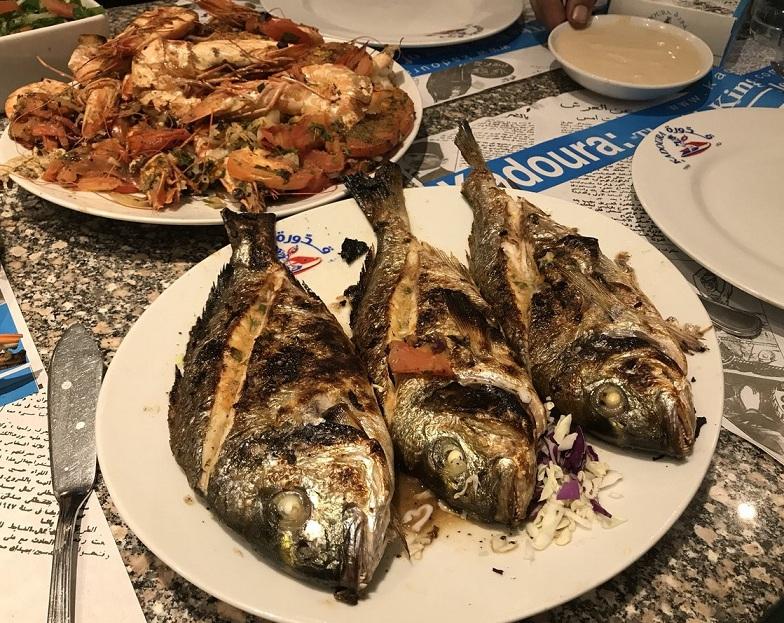 أفضل مطاعم أسماك